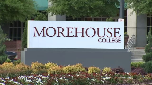 MorehouseCollegeSign