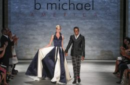 b michael AMERICA Couture Spring